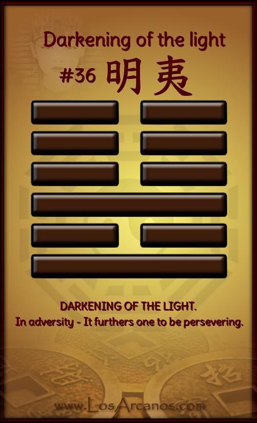 ichingDarkening of the light