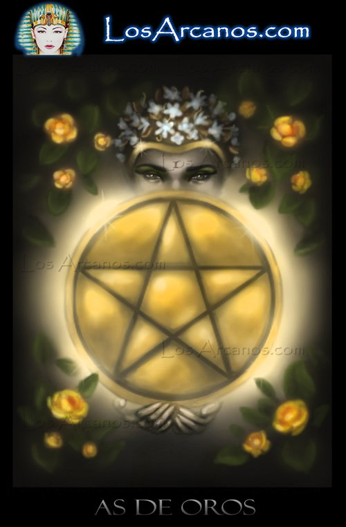 Tarot the Ace of Pentacles