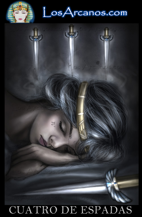 Tarot Four of Swords