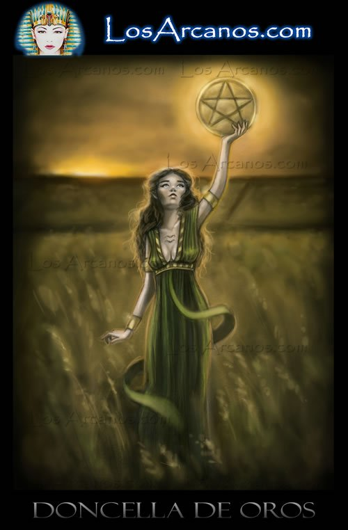 Tarot The Page of Pentacles