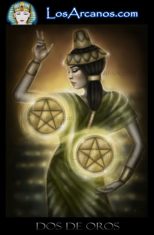 Tarot Two of Pentacles