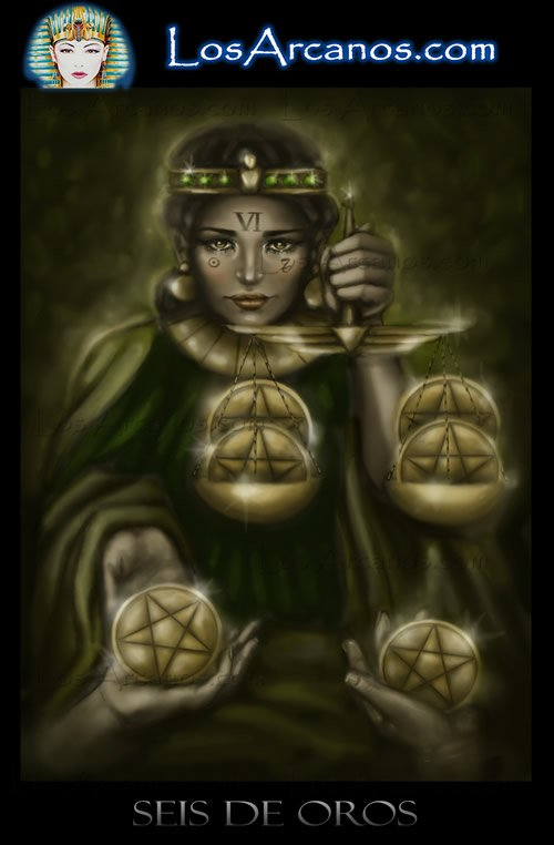 Tarot Six of Pentacles