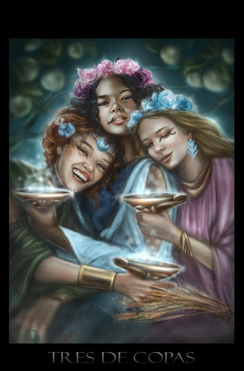 Tarot Three of Cups
